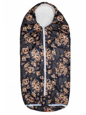 Конверт-одеяло Seehund TIGger. Цвет: золотистый, черный