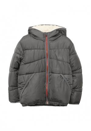 Куртка утепленная Esprit. Цвет: серый