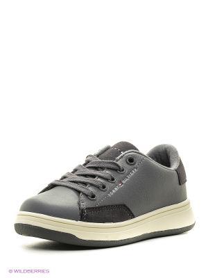 Кроссовки Tommy Hilfiger. Цвет: серый