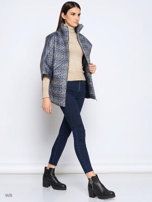 Куртка Colambetta. Цвет: темно-синий, белый