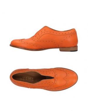 Мокасины L'F SHOES. Цвет: оранжевый