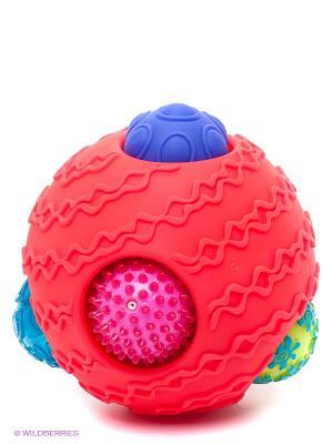 Игрушка Шумные шарики Battat. Цвет: красный