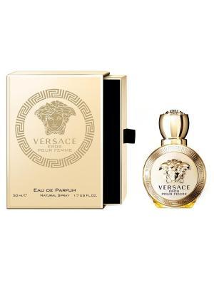 Versace Eros Pour Femme туалетная вода, 100 мл. Цвет: прозрачный