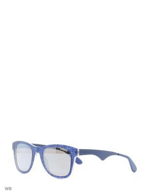 Солнцезащитные очки CARRERA 6000TX FTZ. Цвет: синий