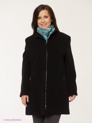 Пальто Gemko plus size. Цвет: черный