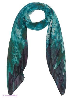 Платок FRAAS. Цвет: темно-синий, серо-голубой, темно-зеленый