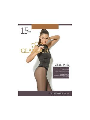 Колготки Ginestra 15 Glamour. Цвет: бронзовый