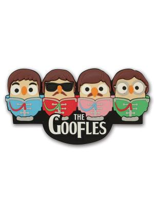Магнит с совами Goofles Goofi. Цвет: черный