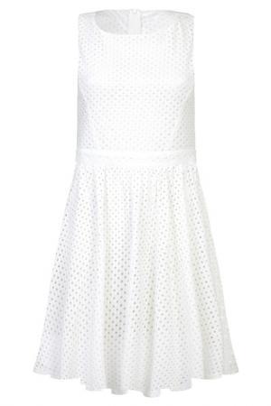 Платье Iska. Цвет: белый