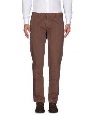 Повседневные брюки DW⁵. Цвет: какао