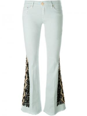 Декорированные брюки Carmen Dont Cry Don't. Цвет: синий