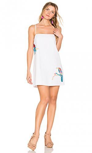 Мини платье cairns PIPER. Цвет: белый