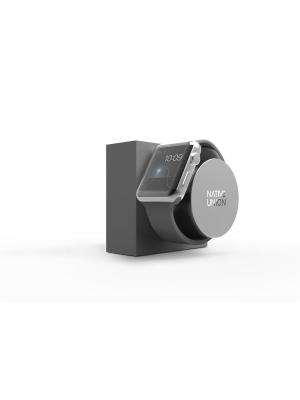 Подставка для Apple Watch, поворотная , DOCK-AW-SL-GRY DOCK FOR WATCH Native Union. Цвет: серый