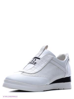 Ботинки Daze. Цвет: белый