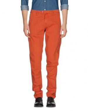 Повседневные брюки BARONIO. Цвет: ржаво-коричневый