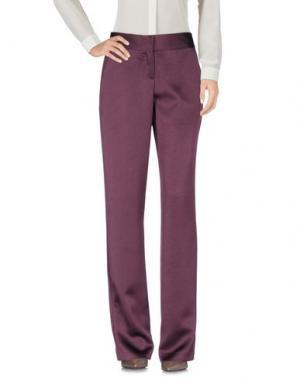 Повседневные брюки MIGUEL PALACIO for HOSS INTROPIA. Цвет: баклажанный
