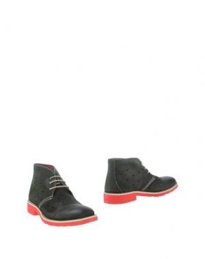Полусапоги и высокие ботинки GABARDINE. Цвет: зеленый