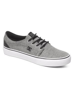 Кеды DC Shoes. Цвет: серый, белый