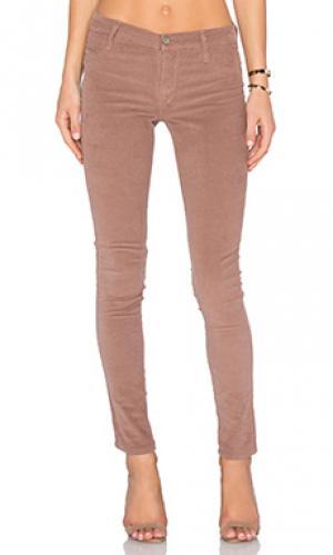 Узкие джинсы James Jeans. Цвет: коричневый
