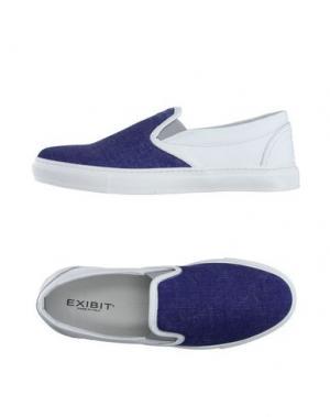 Низкие кеды и кроссовки EXIBIT. Цвет: ярко-синий