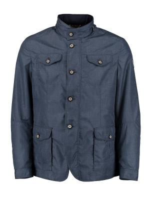 Куртка Florentino. Цвет: темно-синий