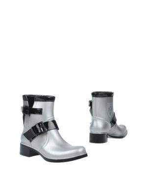 Полусапоги и высокие ботинки PIRELLI PZERO. Цвет: серый