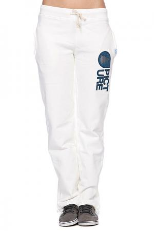 Штаны прямые женские  Cocoon Women Pants White Picture Organic. Цвет: белый