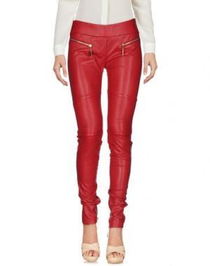 Повседневные брюки MANGANO. Цвет: красный