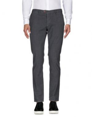 Повседневные брюки OAKS. Цвет: свинцово-серый