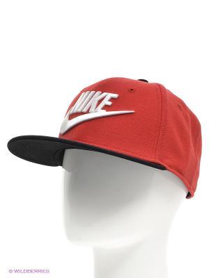 Бейсболка Nike. Цвет: темно-красный, белый
