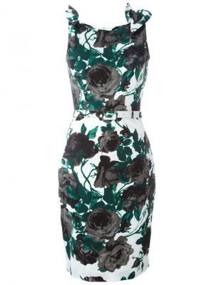 Платье Monroe Samantha Sung. Цвет: зелёный