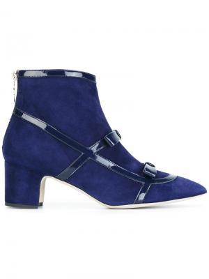 Ботинки Emanuela Rayne. Цвет: синий