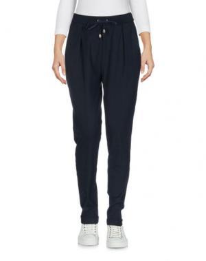 Повседневные брюки GRAN SASSO. Цвет: темно-синий