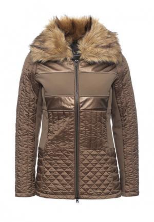 Куртка утепленная Featuring. Цвет: коричневый