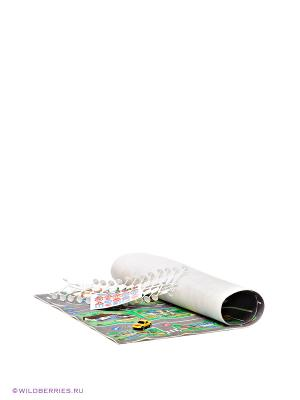 Игровой коврик с дорожными знаками AVC. Цвет: серый, синий, зеленый