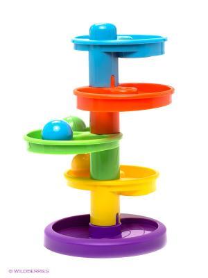 Игрушка Горка-спираль Little Tikes. Цвет: голубой, оранжевый, желтый, зеленый