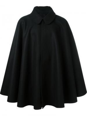 Пальто-кейп Cini. Цвет: чёрный