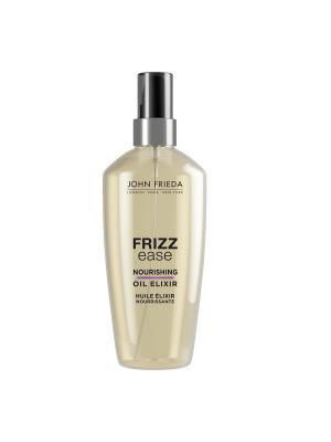 Питательное масло эликсир для волос Frizz Ease, 100 мл John Frieda. Цвет: прозрачный