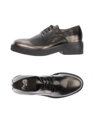 Обувь на шнурках FRU.IT. Цвет: стальной серый