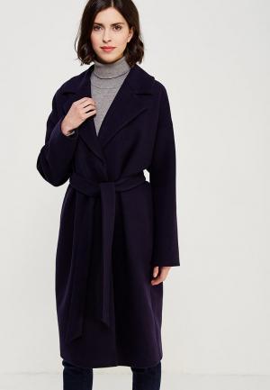 Пальто Ruxara. Цвет: синий