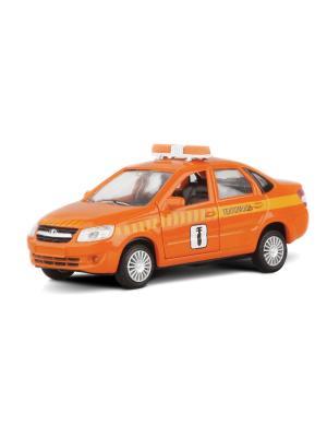 Машина LADA GRANTA техпомощь AUTOTIME. Цвет: оранжевый