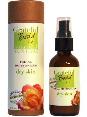 Увлажняющий крем для сухой кожи, 60 мл Grateful Body. Цвет: салатовый