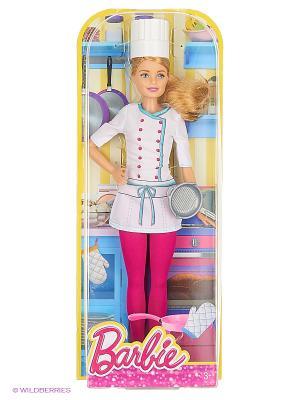 Кукла из серии Профессии Barbie. Цвет: белый, розовый
