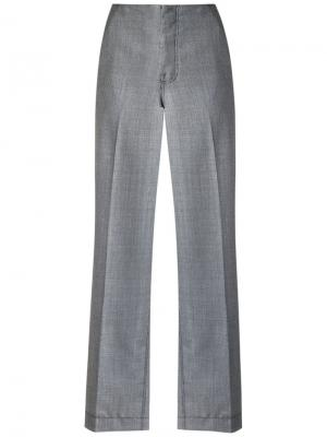 Straight trousers Reinaldo Lourenço. Цвет: серый