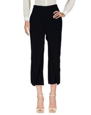 Повседневные брюки FEDERICA TOSI. Цвет: черный
