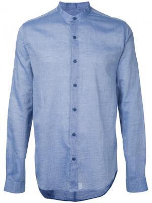 Рубашка Bootboy YMC. Цвет: синий