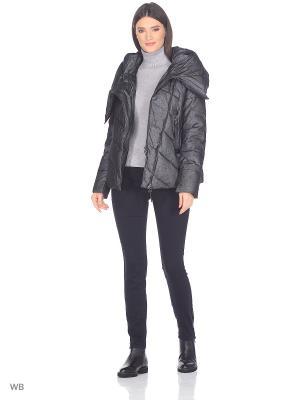 Куртка MOHNASS. Цвет: черный