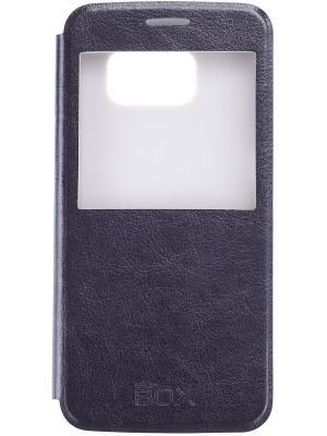 Кейс-книжка для Samsung Galaxy S6 skinBOX. Цвет: черный