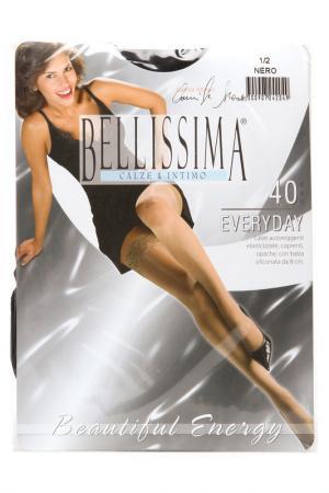 Чулки Bellissima. Цвет: nero