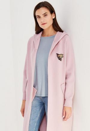 Пальто Fresh Cotton. Цвет: розовый